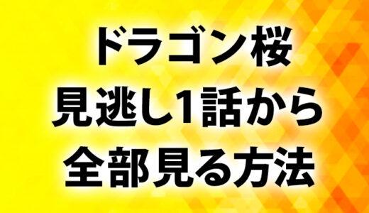 ドラゴン桜動画(2005)1話見逃しParavi視聴方法!