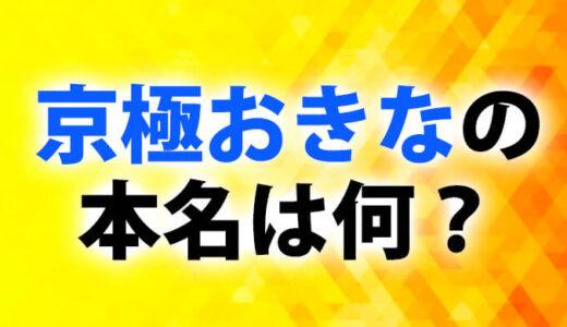 京極おきなの名前は本名!?生い立ちや学歴!出身大学高校中学まとめ